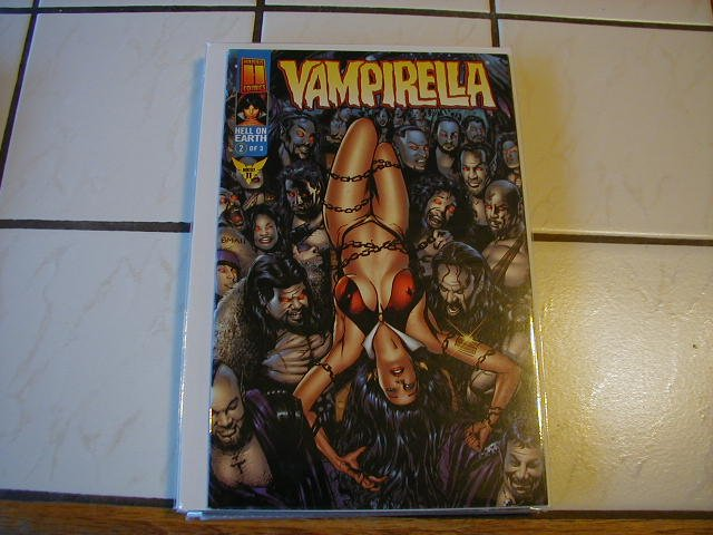VAMPIRELLA HELL ON EARTH #2 VF OR BETTER
