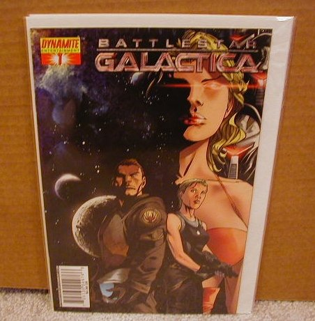 "BATTLESTAR GALACTICA #1 COVER ""C"" NM"