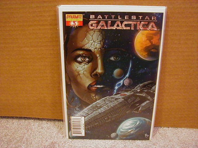 "BATTLESTAR GALACTICA #3 COVER ""A"" NM"