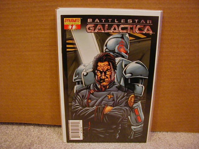 "BATTLESTAR GALACTICA #7  COVER ""C""  NM"
