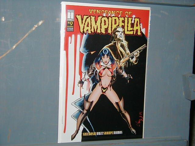 VENGEANCE OF VAMPIRELLA #9 VF/NM
