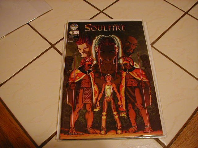 """SOULFIRE #4 NM  """"A"""" COVER"""