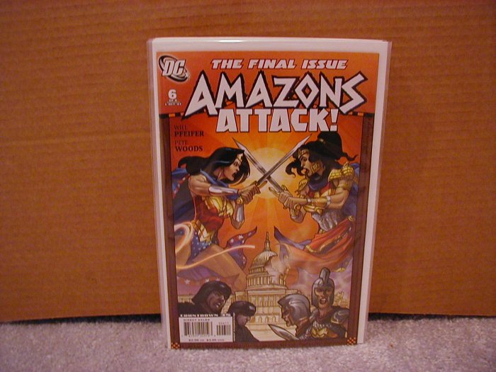 AMAZONS ATTACK! #6 NM