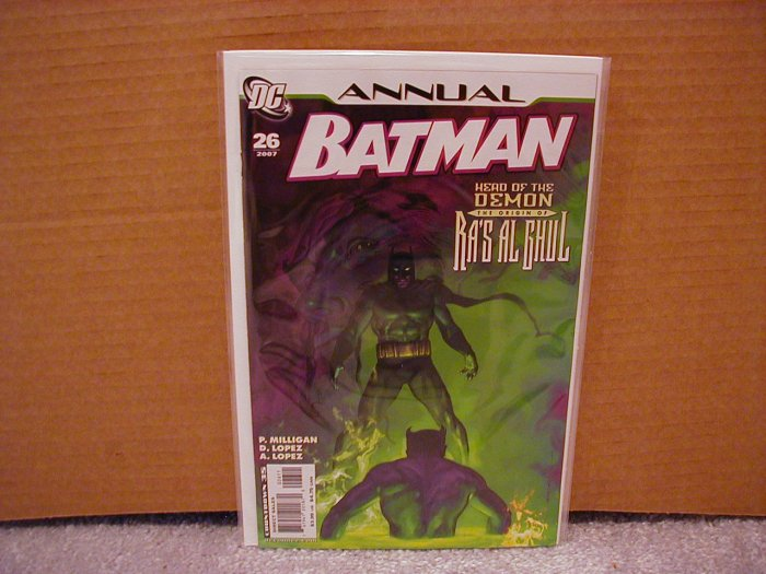 BATMAN ANNUAL #26 NM ORIGIN OF RA'S AL GHUL