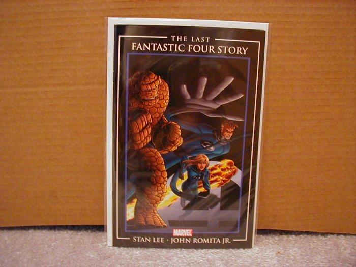 LAST FANTASTIC FOUR STORY BY STAN LEE & JOHN ROMITA JR. NM  2007