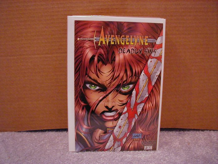 AVENGELYNE DEADLY SINS #2 VF/NM