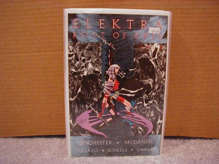 ELEKTRA ROOT OF EVIL #4 NM