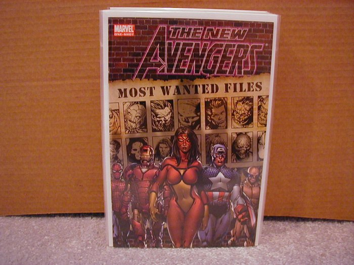 NEW AVENGERS MOST WANTED FILES ONE-SHOT NM