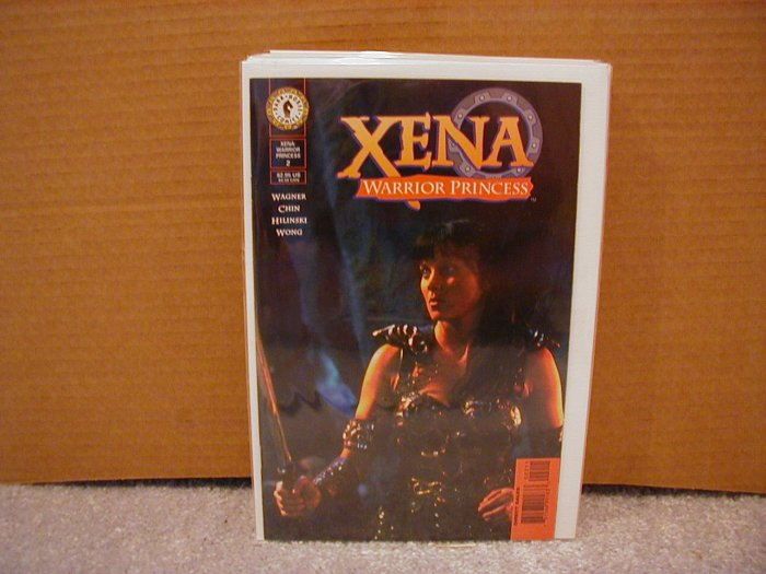 XENA WARRIOR PRINCESS #2 NM DARK HORSE SERIES  PHOTO COVER