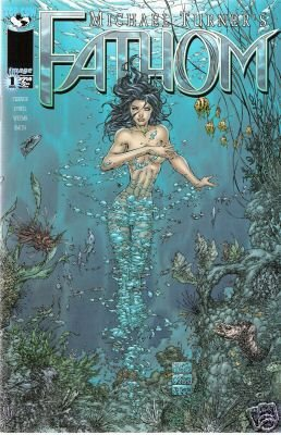 "FATHOM #1  ""C"" COVER VF/NM  IMAGE 1ST SERIES"