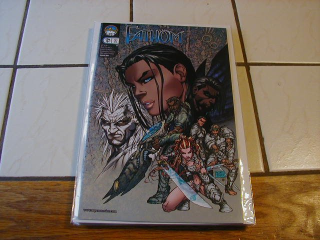 "FATHOM #2 ""A"" COVER (ASPEN 2005 VOL 1)VF/NM"