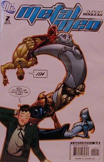 METAL MEN #2 NM (2007)