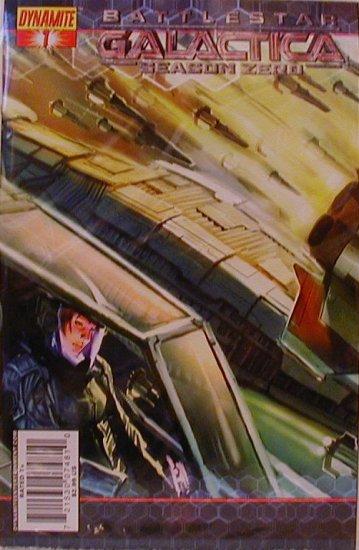 """BATTLESTAR GALACTICA SEASON ZERO #1 """"A"""" COVER NM"""