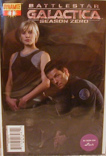 BATTLESTAR GALACTICA SEASON ZERO #1 PHOTO COVER NM