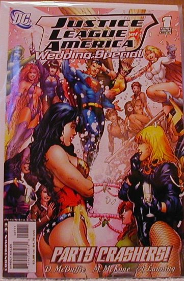 JLA WEDDING SPECIAL #1 NM (2007)
