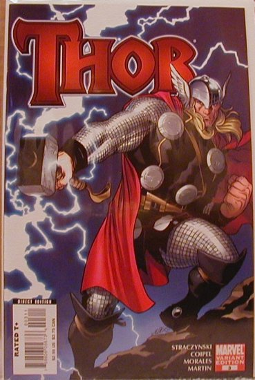THOR #3 NM (2007) 1ST PRINT VARIANT COVER