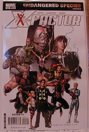 X-FACTOR #23 NM  ENDANGERED SPECIES CHAPTER 11
