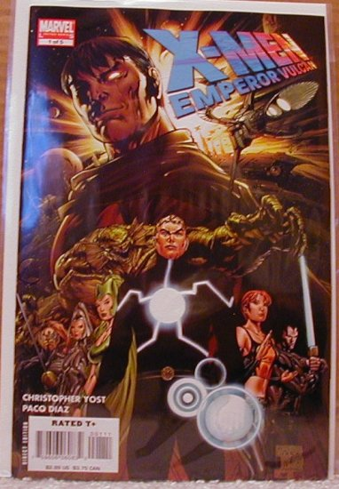 X-MEN EMPEROR VULCAN #1 NM  NEW MINI SERIES