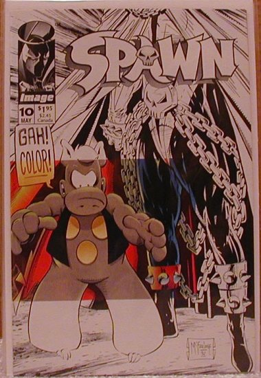 SPAWN #10 VF/NM