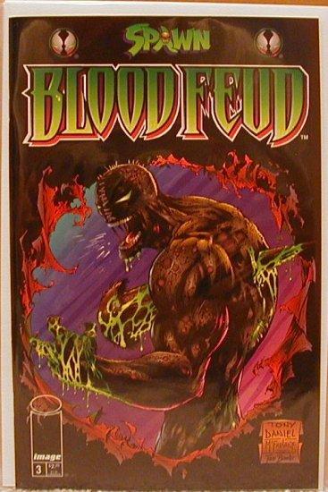 SPAWN BLOODFEUD #3 VF/NM