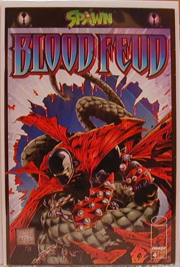 SPAWN BLOODFEUD #4 VF/NM