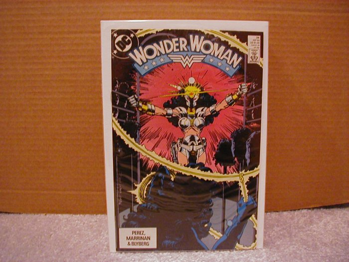 WONDER WOMAN #34 VF/NM (1987)
