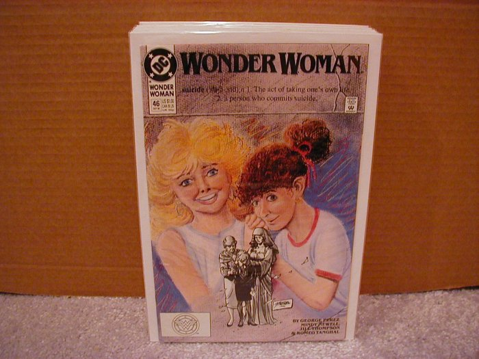 WONDER WOMAN #46 VF/NM (1987)