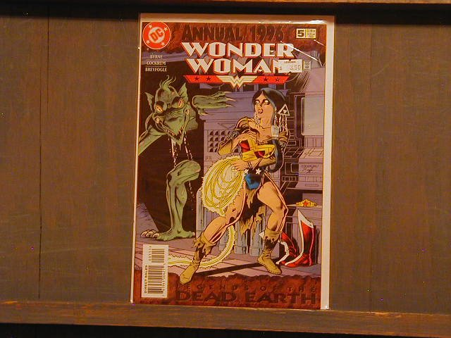 WONDER WOMAN ANNUAL #5 VF +