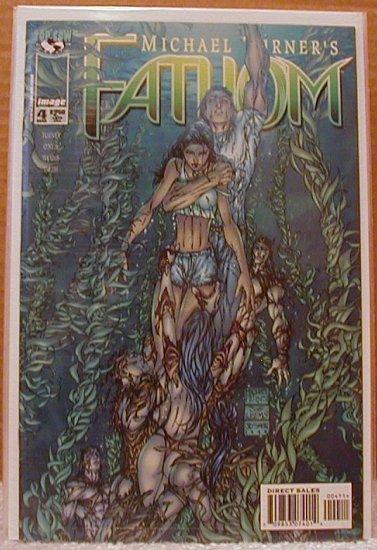FATHOM #4  NM  IMAGE 1ST SERIES
