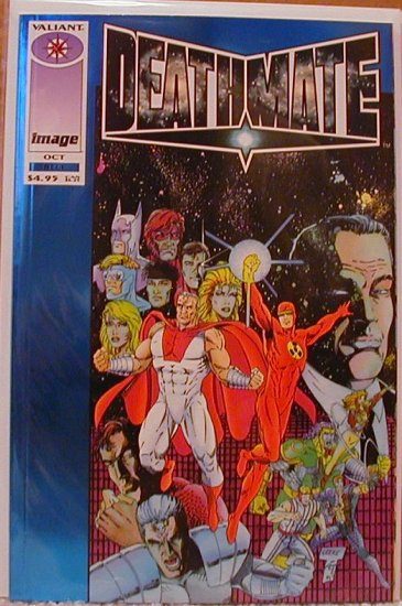 DEATHMATE BLUE  VF/NM  IMAGE/VALIANT TEAM-UP