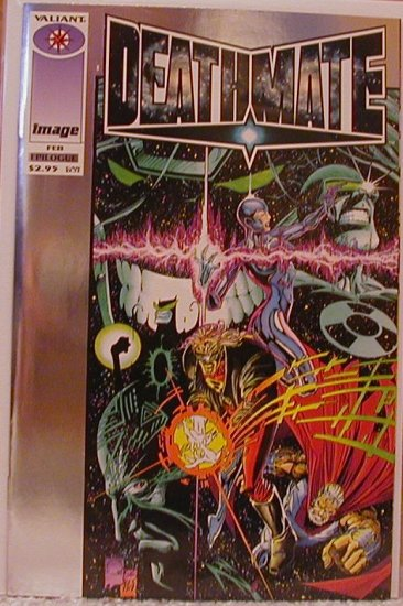 DEATHMATE EPILOGUE VF/NM  IMAGE/VALIANT TEAM-UP
