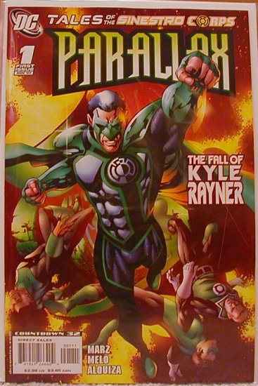 TALES OF THE SINESTRO CORPS PARALLAX #1 NM