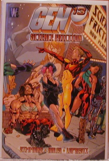 GEN 13 SCIENCE FRICTION  VF/NM