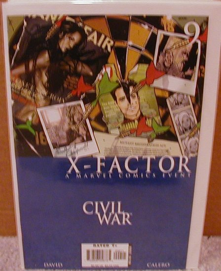 X-FACTOR #9 NM (2006) CIVIL WAR