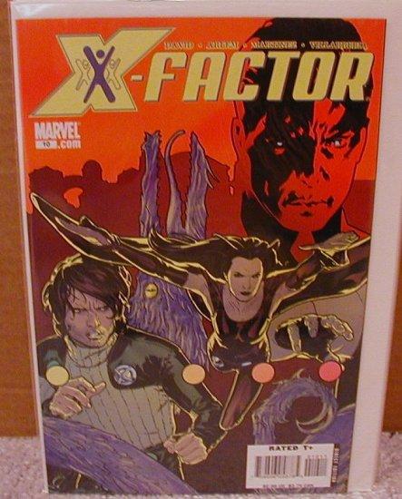 X-FACTOR #10 NM (2006)