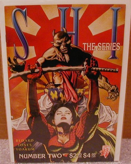 SHI THE SERIES #2 VF/NM CRUSADE COMICS