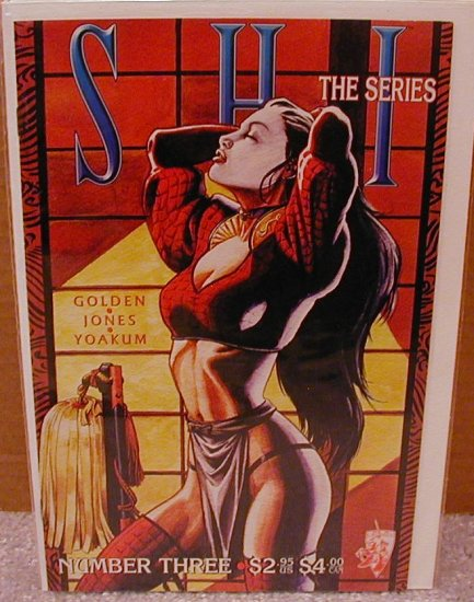 SHI THE SERIES #3 VF/NM CRUSADE COMICS