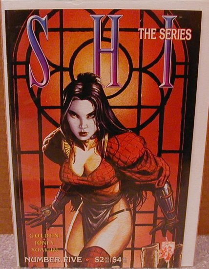 SHI THE SERIES #5 VF/NM CRUSADE COMICS