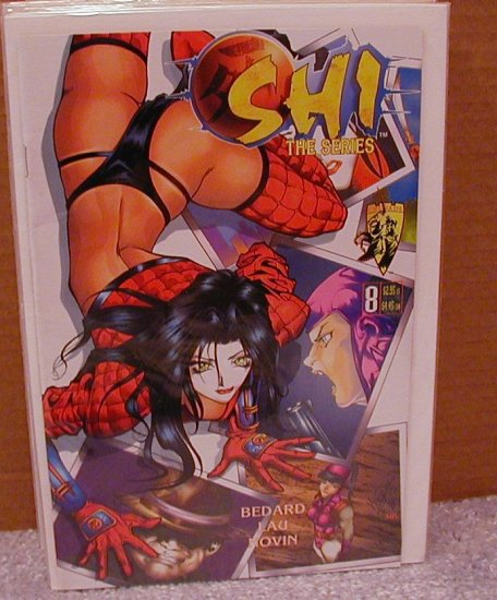 SHI THE SERIES #8 VF CRUSADE COMICS