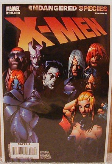 X-men #203 NM Endangered Species Chapter (15)