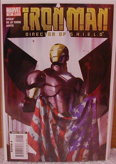 IRON MAN #22 NM (2007)