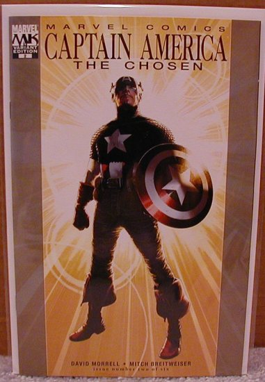 CAPTAIN AMERICA THE CHOSEN #2 NM  1ST PRINT VARIANT  (2007)