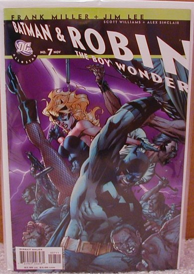 ALL-STAR BATMAN AND ROBIN #7 NM (2007)