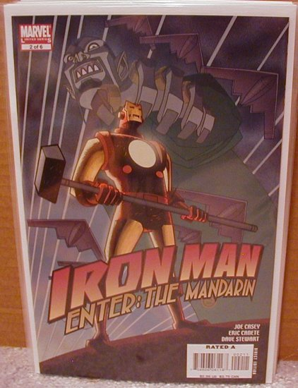 IRON MAN ENTER THE MANDARIN #2 NM (2007)