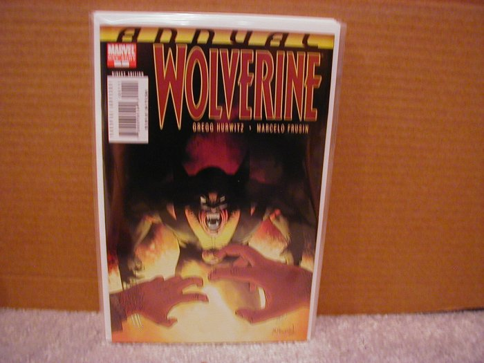 WOLVERINE ANNUAL #1  NM (2007)