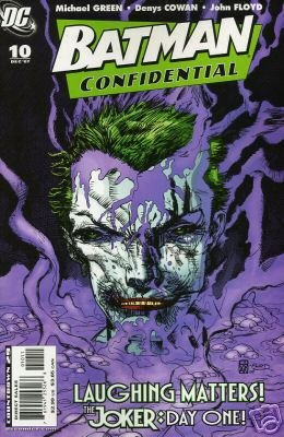 BATMAN CONFIDENTIAL #10 JOKER'S ORIGIN NM (2007)