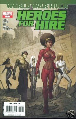 HEROES FOR HIRE #14 NM(2007) WORLD WAR HULK