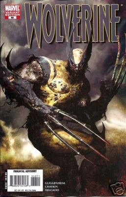 WOLVERINE #58 ZOMBIE COVER VARIANT 1ST PRINT NM (2007)