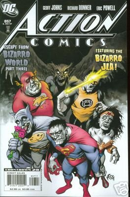 ACTION COMICS #857 NM (2007) PART THREE OF BIZARRO WORLD