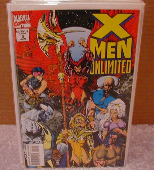 X-MEN UNLIMITED #5 VF OR BETTER